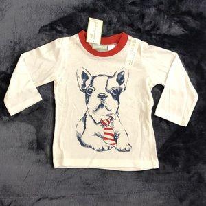 NWT Long Sleeve Dog Tee